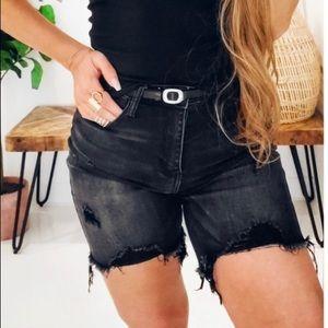 Distressed Long Shorts